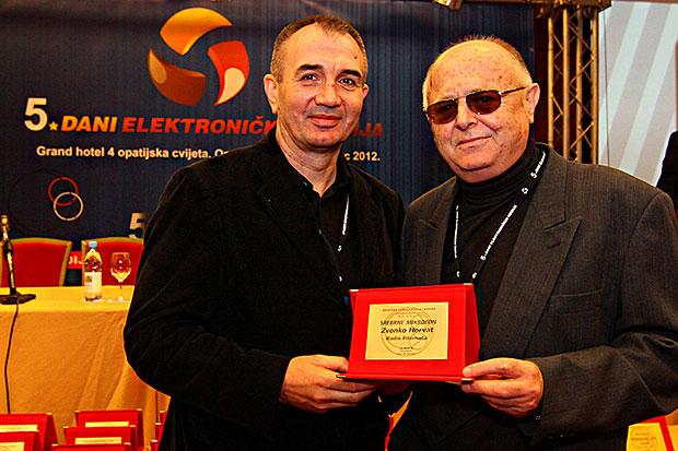 Zvonko Horvat (desno)