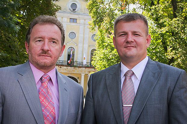 Direktor Plin Vtc-a Zvonko Kožnjak i gradonačelnik Virovitice Ivica Kirin