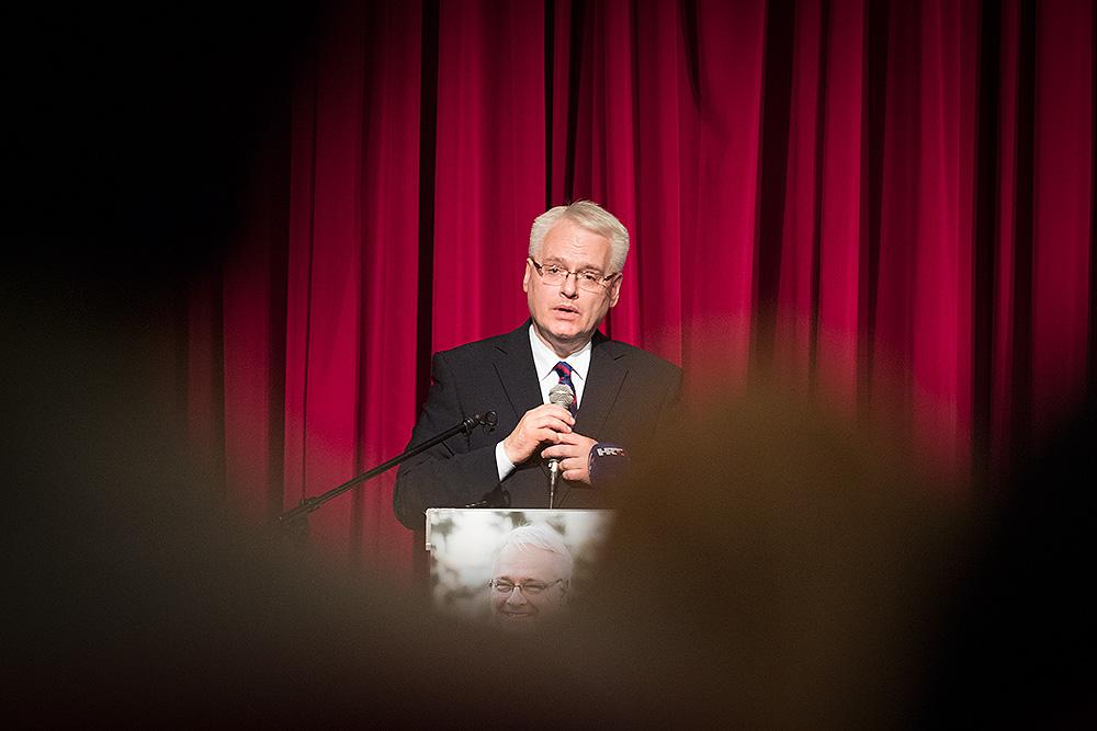 Održan predizborni skup Ive Josipovića