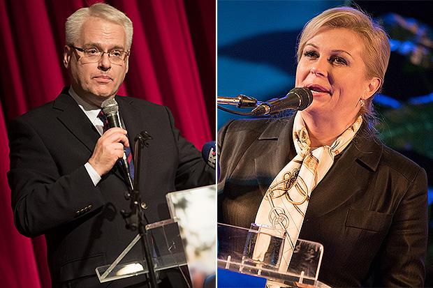 Ivo Josipović i Kolinda Grabar Kitarović