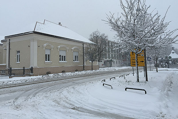 Virovitica u snijegu