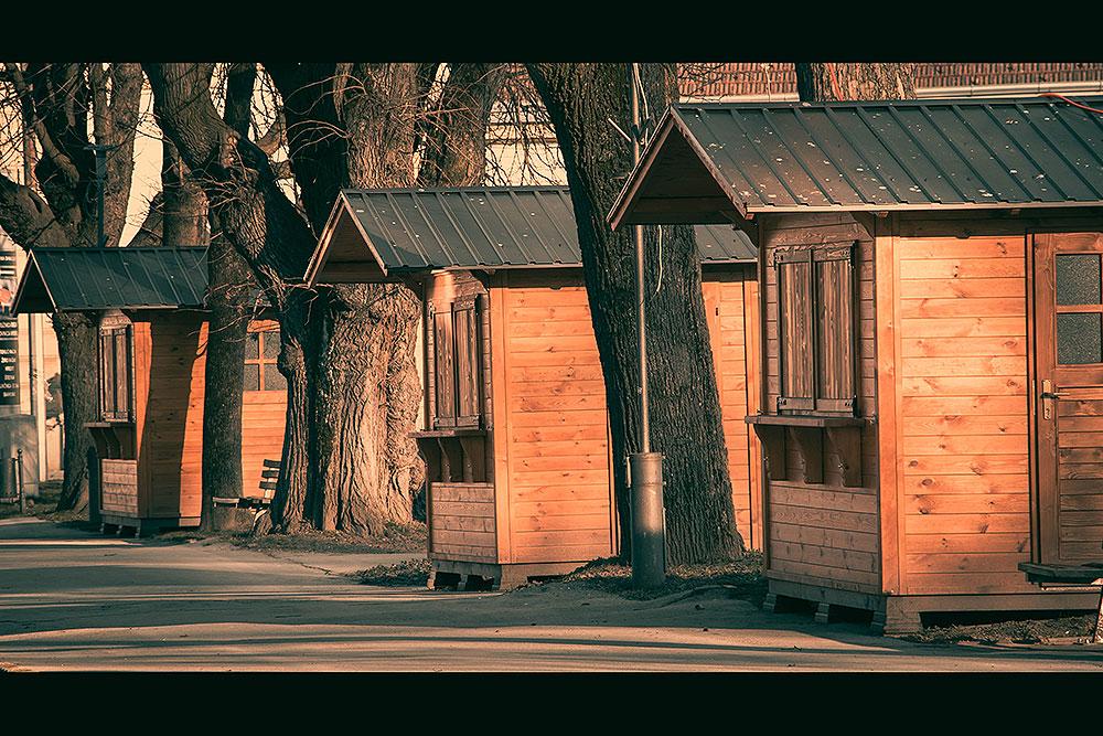 Kućice na Korzu