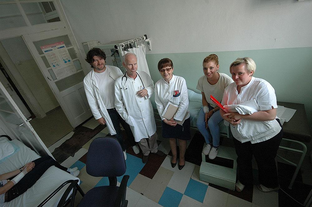 Na odjelu za infektologiju OB Virovitica pokazna vježba simulacije požara