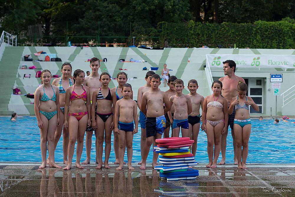 Ljetna škola plivanja za učenike iz Gradine