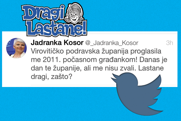 Jadranka Kosor - Twitter