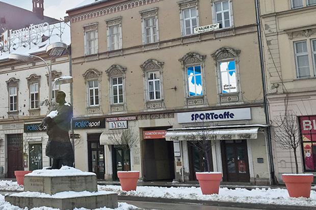 Plava tvornica u Osijeku