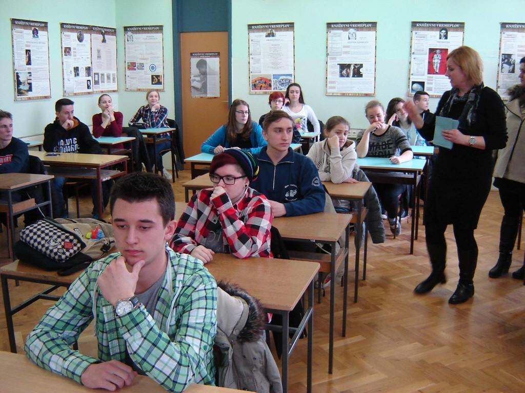 Županijsko natjecanje iz biologije, foto: Gimnazija P. Preradovića Virovitica