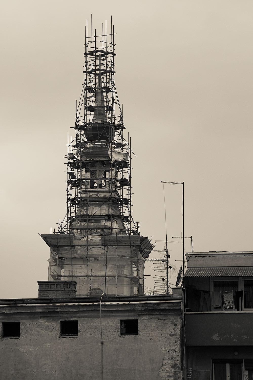 Obnova tornja na crkvi Sv. Roka