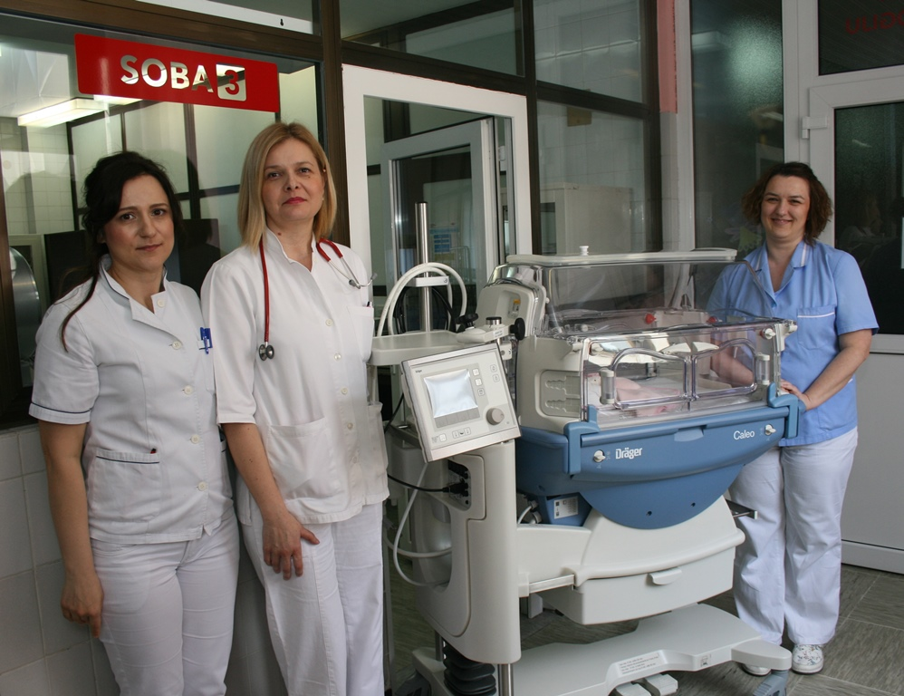 Inkubator u virovitičkoj bolnici