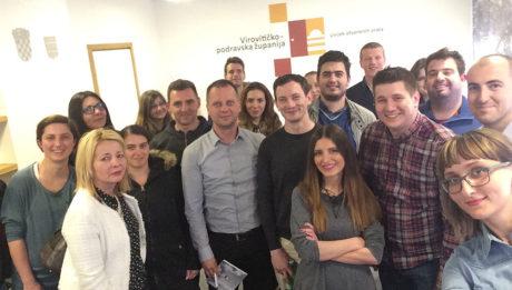 Mladi i poduzetništvo – razmjena ideja i iskustava u Virovitičko-podravskoj županiji