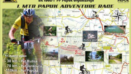 1. MTB Papuk Adventure Race u subotu u Orahovici