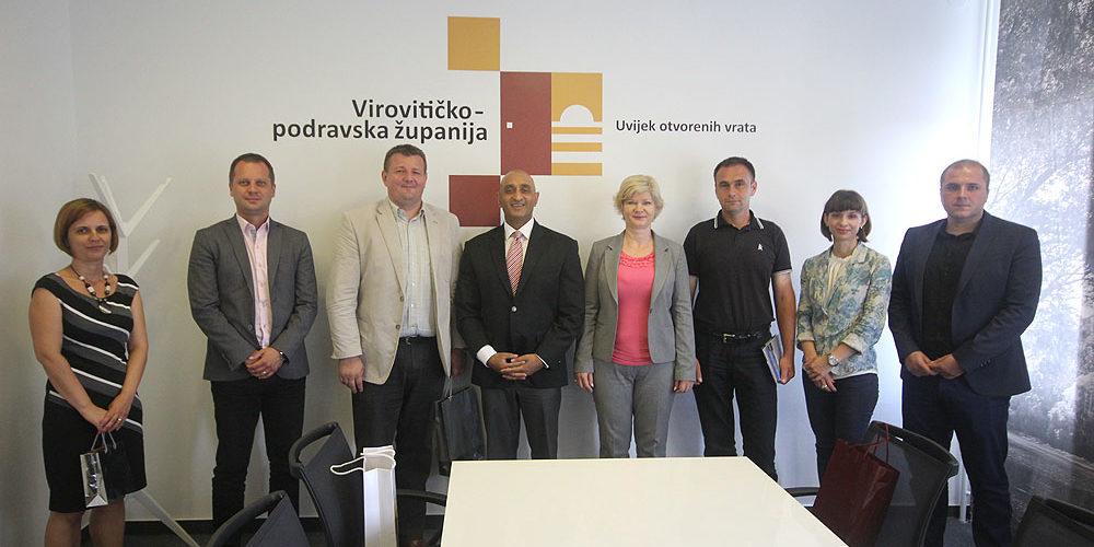 Veleposlanik Republike Indije posjetio Virovitičko-podravsku županiju