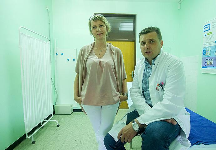 U virovitičkoj bolnici po prvi puta je izvedena laparoskopska resekcija kolona