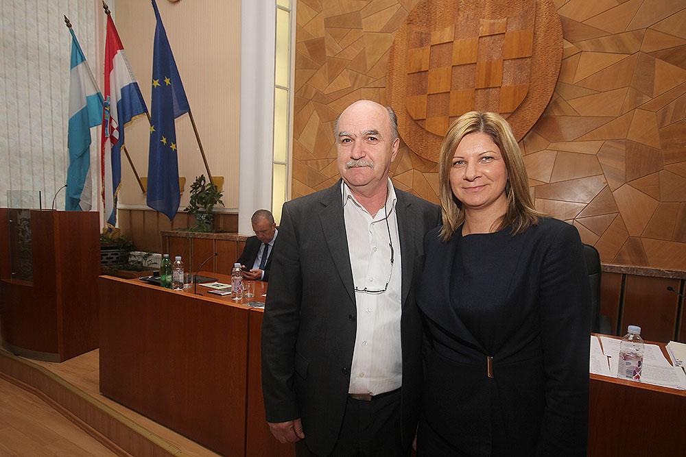Josip Novogradec i Ana-Marija Petin