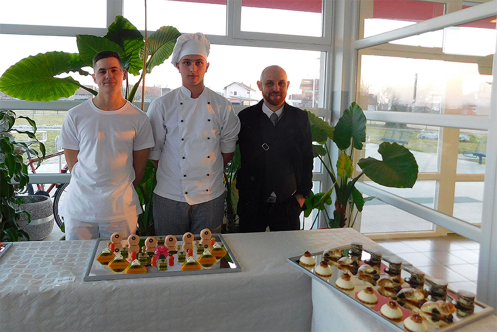 Dominik Presečan prvi, a Nino Sabolić drugi na regionalnom natjecanju Gastro 2017.