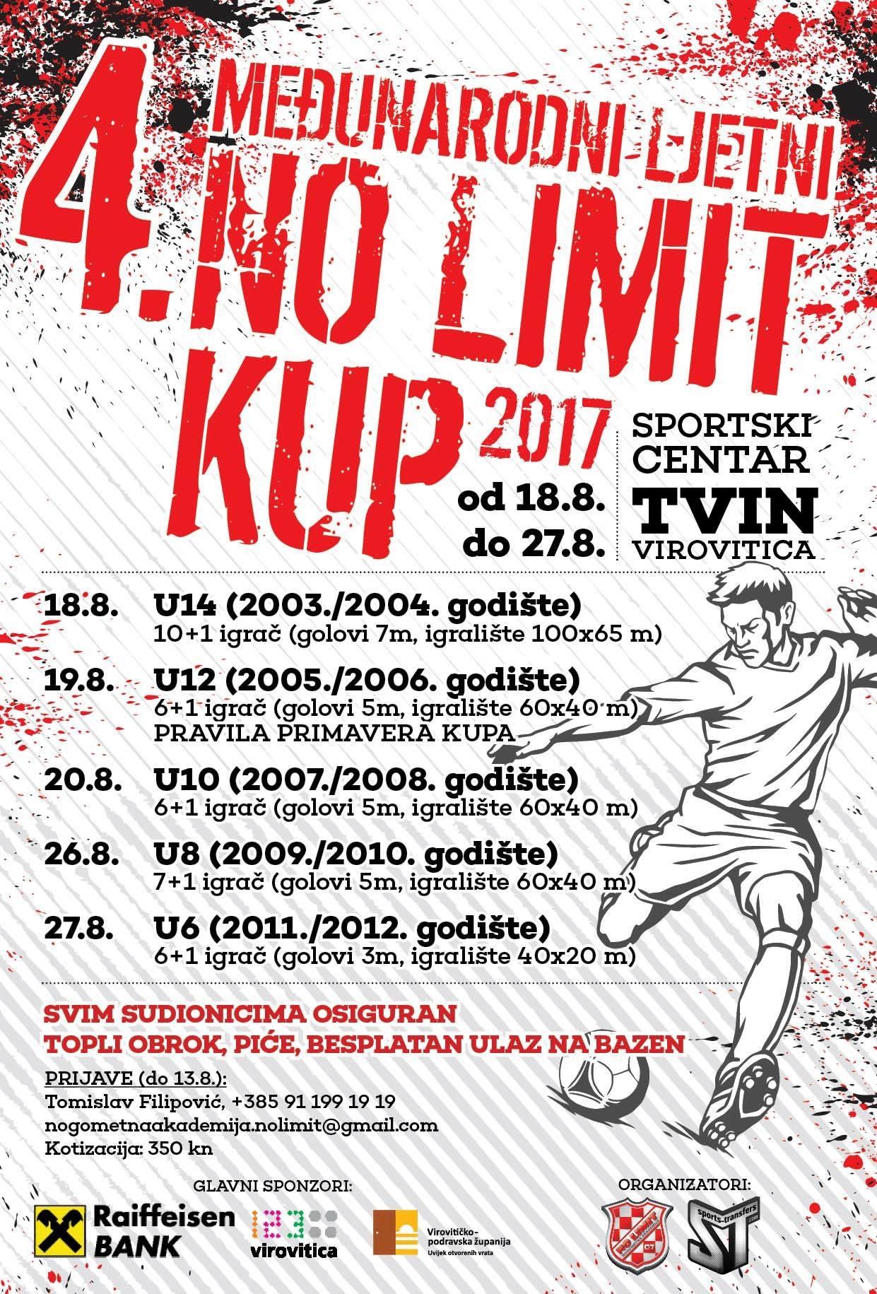 4. NO LIMIT kup