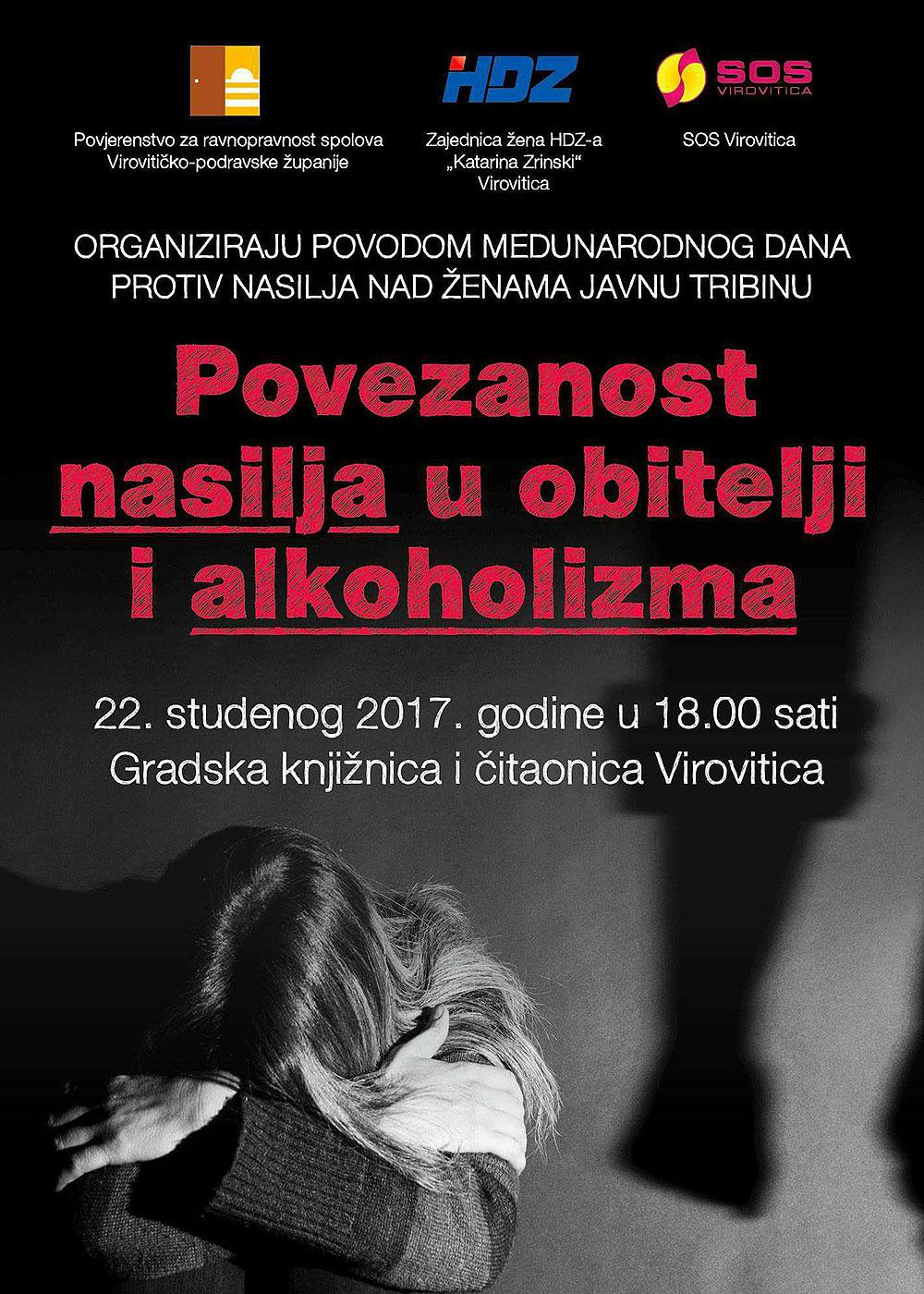 Povezanost nasilja u obitelji i alkoholizam