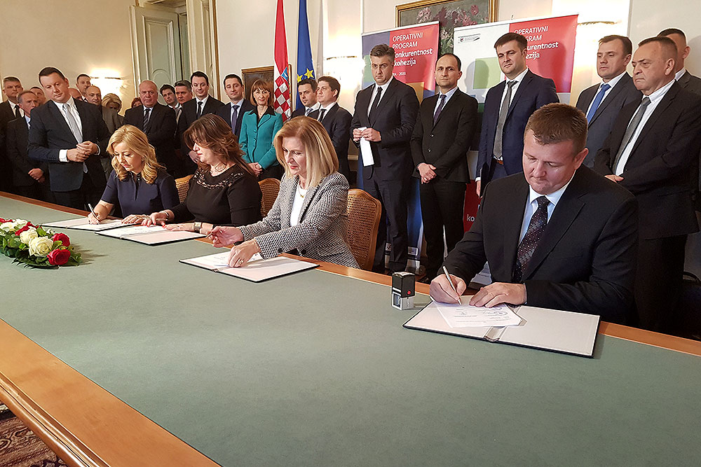 Gradonačelnik Kirin u Osijeku potpisao sporazum o financiranju gradnje COOR-a i trodijelne školske sportske dvorane