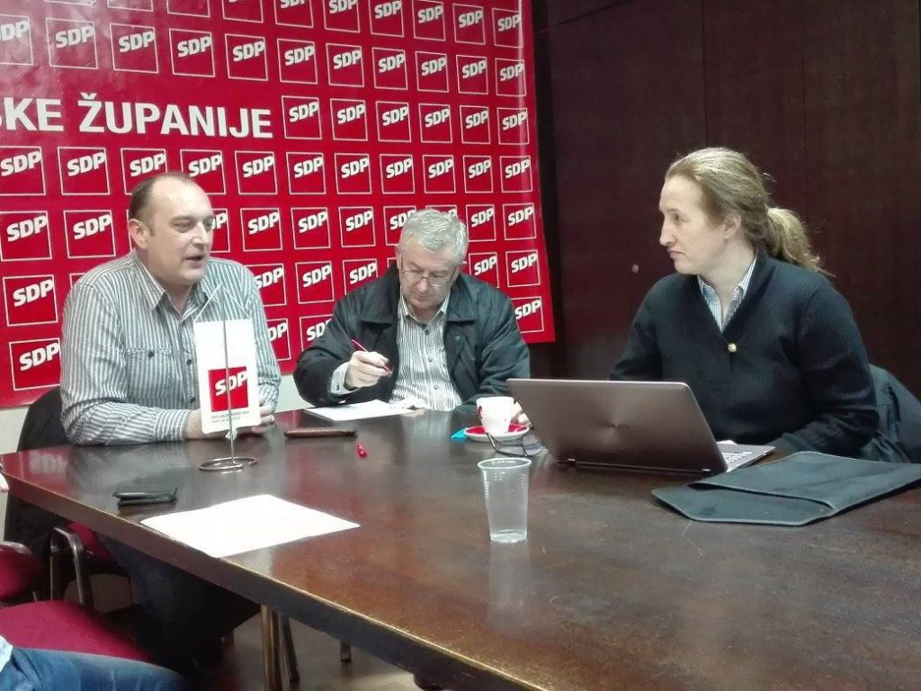 Dražen Kurečić, Damir Barić i Aleksandra Kolarić