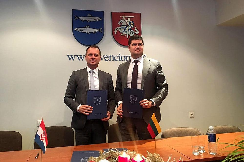 Potpisan Memorandum o razumijevanju i namjeri uspostave suradnje između Virovitičko-podravske županije i Okruga Švenčionys u Republici Litva