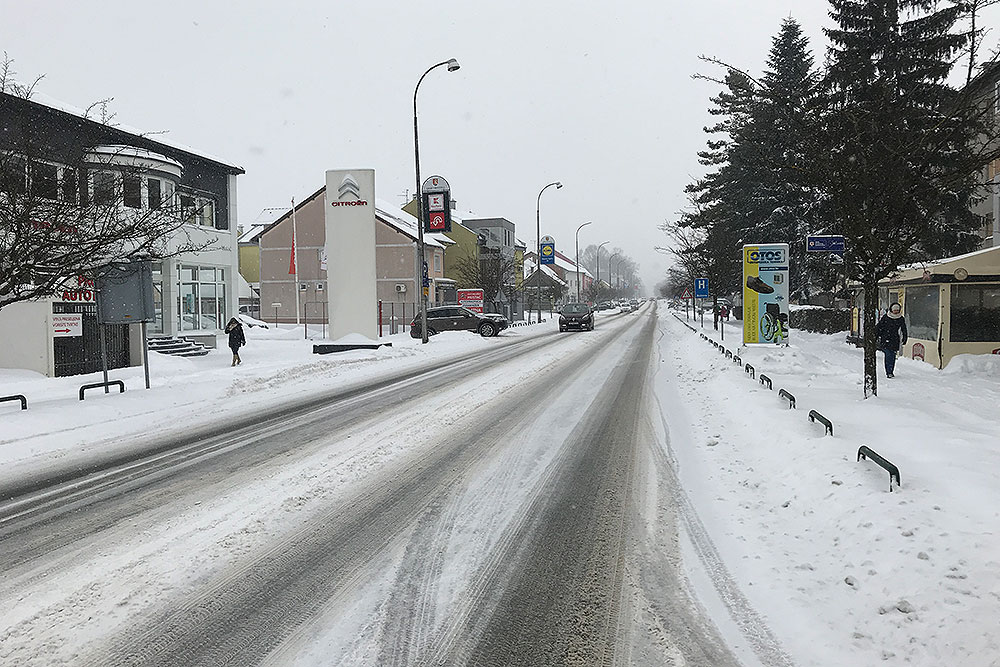 Zima u Virovitici