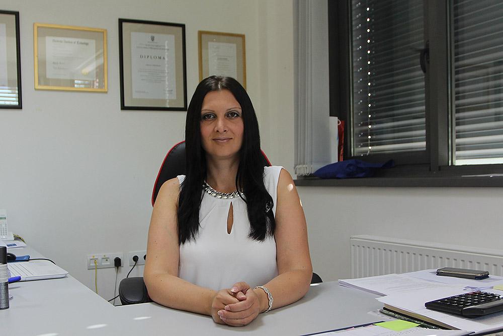 Tihana Harmund, ravnateljica virovitičke Razvojne agencije VTA